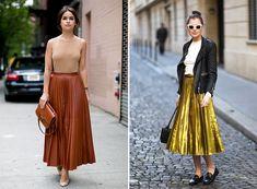 Pleated Midi Skirt Trend | Available at Julianne