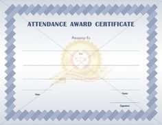 Basketball award certificate templates is a sport certificate to present an attendance award certificate template for a perfect attendance in their class another way to present a good attendance certificate is for 100 yelopaper Image collections