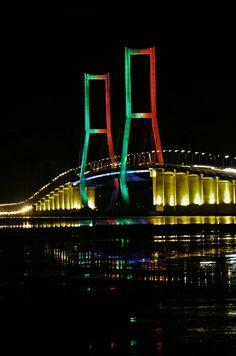 Suramadu Bridge, Surabaya, Indonesia