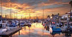 Pier Stearns Wharf em Santa Bárbara #viagem #california