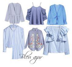 """Bleu azur"" by takishadelrey on Polyvore featuring mode, Vetements, H&M et MANGO"