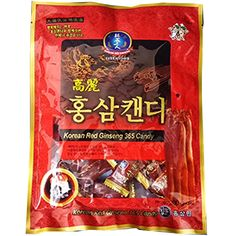 Made of an extract of well grown redk ginseng roots. The mixture of extracts and powder is a well grown red ginseng roots. You can feel the native aroma and astringent taste of ginseng with a touch. Good for refreshment while driving and jogging. Efficacy of Ginseng Candy -Boost the Immune System and Boost Energy and Stamina. Size : 200g