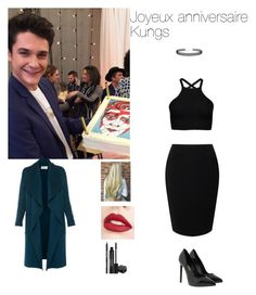 """""""Joyeux anniversaire Kungs !"""" by anneso88 ❤ liked on Polyvore featuring Jacques Vert, Yves Saint Laurent, L.K.Bennett, Jouer, Rodial and LULUS"""