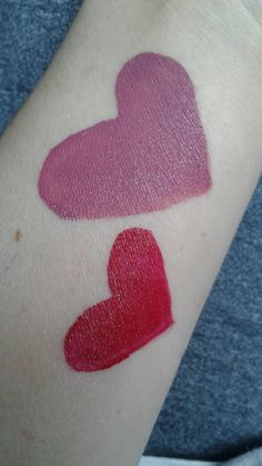 Swatches!! Left is PIONEER & Right is LOVER