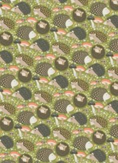 Hedgehogs Wrapping Paper - Roll Wrap