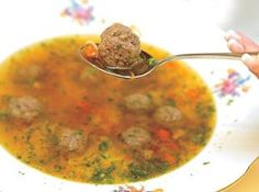 Liver Dumpling Soup Recipe This is my grandmother's recipe, Mrs. Burgkoffer ,who was born in Germany. My dad did not like this soup , but my grand father loved it. Slovak Recipes, Czech Recipes, Hungarian Recipes, Ethnic Recipes, German Recipes, Hungarian Food, Liver Recipes, Soup Recipes, Cooking Recipes