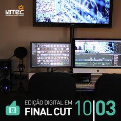 Divulgação para o curso de Edição Digital em Final Cut