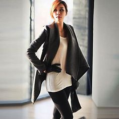 Women's Winter Woolen Overcoat Trench Coat – USD $ 17.54