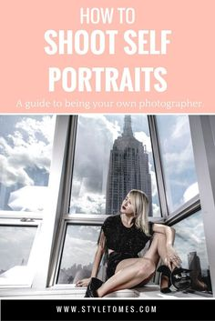 Blog Photography Tips: Learn how to pose and shoot yourself for your blog. Completel breakdown of equipment and my setup. This is how I take all my own photos for my Instagram and fashion blog!