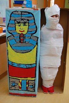 Actividad infantil antiguo Egipto