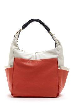 DVF Franco Colorblock Shoulder Bag by Ivanka Trump