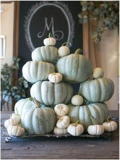 Decorating with pumpkins and gourds is a great way to add harvest flavor to your fall decorating ideas! Try these ideas for pumpkin decorating for fall! Thanksgiving Decorations, Seasonal Decor, Halloween Decorations, Holiday Decor, Thanksgiving Ideas, Christmas Decorations, Autumn Decorating, Pumpkin Decorating, Decorating Ideas