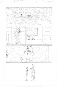 Frank Quitely - All Star Superman #2 Pg 08 Comic Art