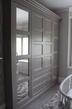 Trendy bedroom loft closet built ins ideas Bedroom Closet Design, Master Bedroom Closet, Bedroom Wardrobe, Wardrobe Doors, Closet Bedroom, Loft Closet, Wardrobe Storage, Bathroom Cabinet Redo, Bedroom Cupboards
