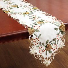 Christmas Pine Table Runner