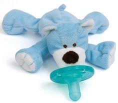 WubbaNub Blue Bear Pacifier $12.95
