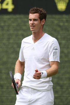 Wimbledon 2014 - Andy Murray, Kim Sears (Vogue.com UK)