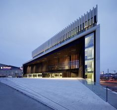 Opera House in Linz by Terry Pawson Architects