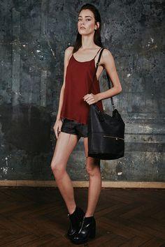 Grace Leather Bag/Backpack