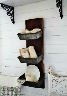 made from old loaf pans