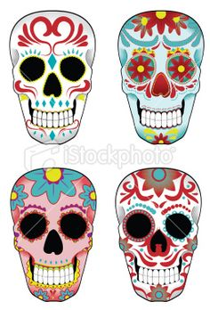 Google Image Result for http://i.istockimg.com/file_thumbview_approve/16419773/2/stock-illustration-16419773-set-of-mexican-sugar-skulls.jpg