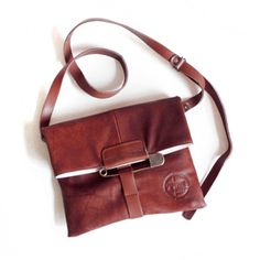 Pony Clutch With Strap Canyon, $94, now featured on Fab.
