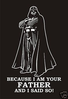 Star Wars Darth Vader T Shirt Great for Fathers Day in the way future! Imma make this for Sol