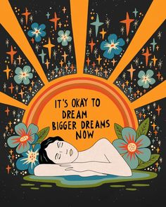 Dreaming bigger dreams Acrylic Tray by asjaboros Dreaming bigger dreams Acrylic Tray by Asja Boros – Medium 15 x Pretty Words, Beautiful Words, Beautiful Life, Beautiful Pictures, Words Quotes, Life Quotes, Sayings, Wisdom Quotes, Wal Art