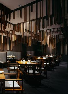 Shato Hanten, a Chinese restaurant designed by Kengo Kuma and Associates.