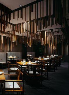 Shato Hanten, a Chinese restaurant designed by Kengo Kuma and Associates.