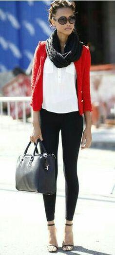 Semplice ma elegante... un look quotidiano perfetto