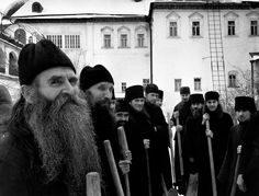 USSR. Russia. Zagorsk. 1958. Russian Orthodox monks.© Cornell Capa © International Center of Photography/Magnum Photos