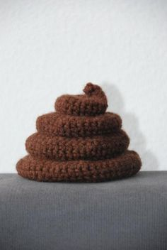 just in case I ever needed to know how to crochet a pile of poo.