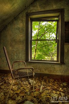 """Afterimage"" - Abandoned farmhouse in Ontario, Canada http://leftahead.ca 
