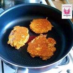 Słodkie kokosowe pancakes z batatów - Kuchnia PoTreningu.pl - dietetyczne potrawy