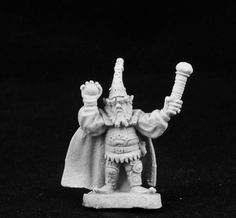 Ral Partha - AD&D 2nd Edition - 3stage-334c - Gnome Illusionist