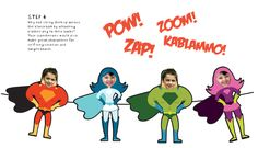 Superheroes Classroom Decorations | Super Hero template and a photo, to create a display in the classroom ...