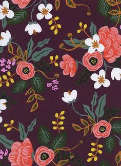 Collection:Menagerie Designer:Rifle Paper Co. Manufacturer:Cotton + Steel Expected Ship Date: August 2017 Manufacturer Item No.: 8008-45 Fabric Content: 100%