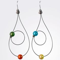 Rain Earrings by Spruce Jewelry