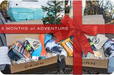 Give the gift of CAIRN (Sample box pictured)