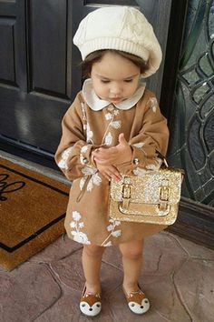 These mini fashion-bloggers-to-be may not be dressing themselves, but they know exactly how to work their looks. From babies in beanies to toddlers in tiny boots, here are 10 fashionable kids to follow on Instagram.