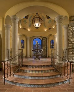 Important entrances were designed with a carved canterra surround and iron and seeded glass transoms.
