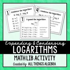 How to expand this logarithm fully?