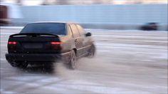 Volvo 850R AWD on snow
