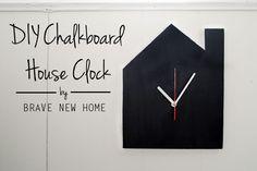 DIY Chalkboard House
