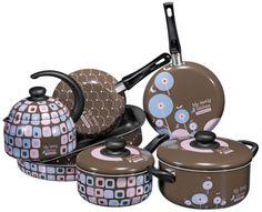 #quefofura Kit Cozinha 8 Peças Vivacor Coleção My Lovely Kitchen - My Lovely Kitchen