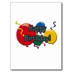 $$$ This is great for          Birthday Balloons Post Card           Birthday Balloons Post Card We provide you all shopping site and all informations in our go to store link. You will see low prices onThis Deals          Birthday Balloons Post Card Review from Associated Store with this De...Cleck See More >>> http://www.zazzle.com/birthday_balloons_post_card-239300933870307392?rf=238627982471231924&zbar=1&tc=terrest