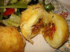 Rellenos De Papa (Stuffed Mashed Potatoes) Puerto Rican Style Food