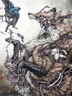 The red fox and the bird / Lauren Marx