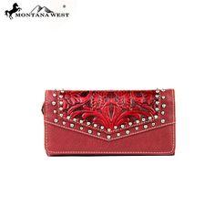 Montana West Tooled Design Collection Wallet (MW181-W002) – Handbag-Addict.com